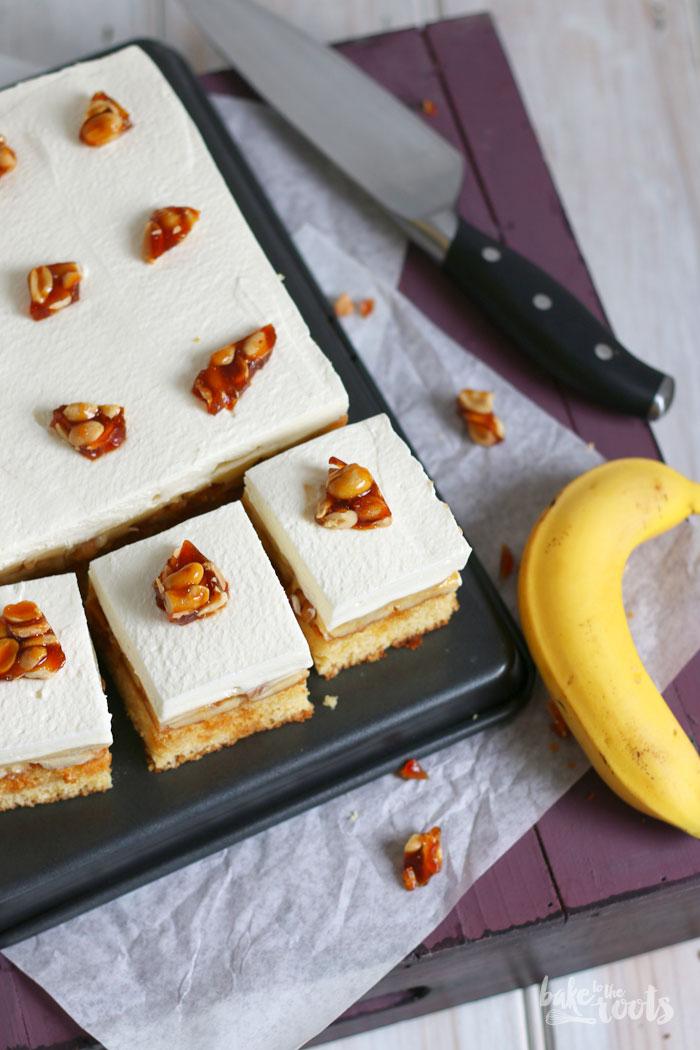 Banana Cream Pie Blechkuchen | Bake to the roots