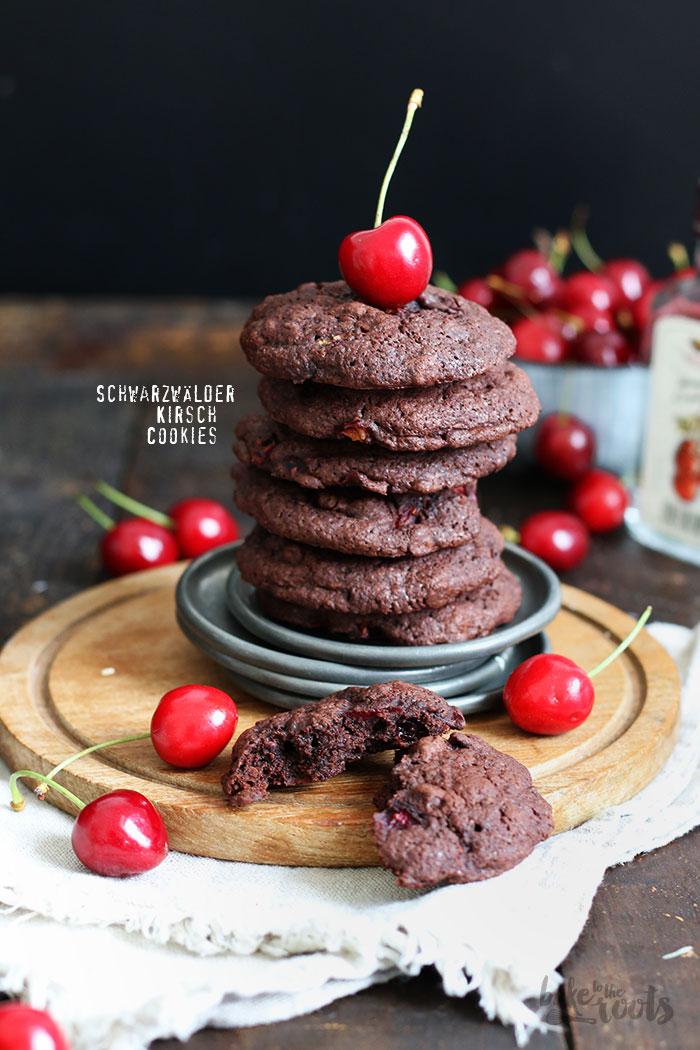 Schwarzwälder Kirsch Cookies   Bake to the roots