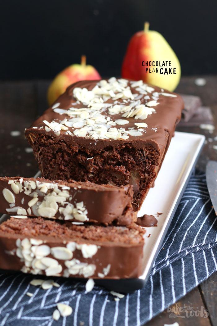 Schokoladenkuchen Mit Birnen Bake To The Roots
