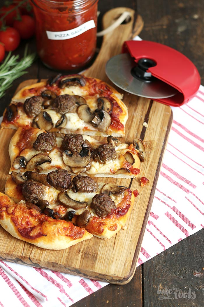 Köttbullar Pizza | Bake to the roots