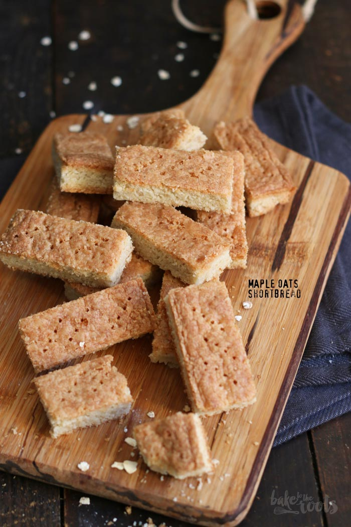 Maple Oats Shortbread | Bake to the roots