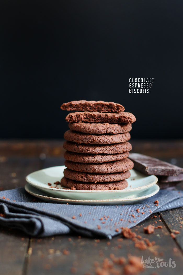 Chocolate Espresso Bisquits   Bake to the roots