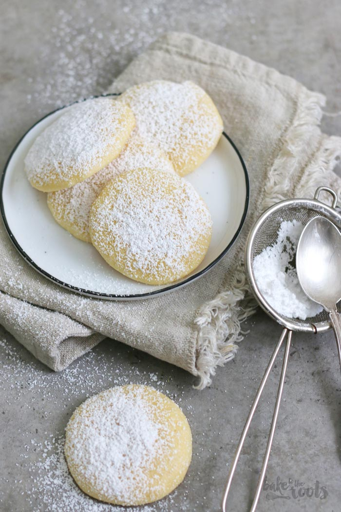 Lemon Cheesecake Cookies | Bake to the roots