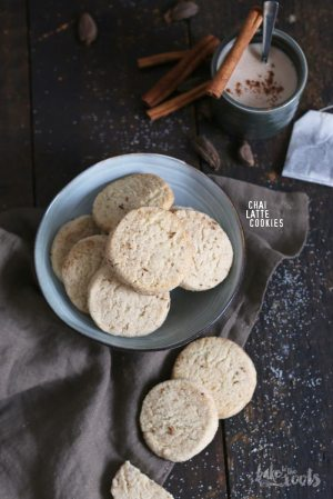 Chai Latte Cookies
