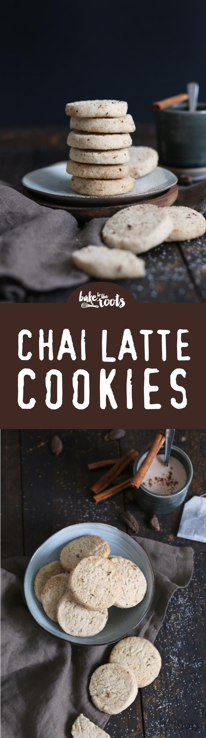 Delicious Chai Latte Cookies | Bake to the roots