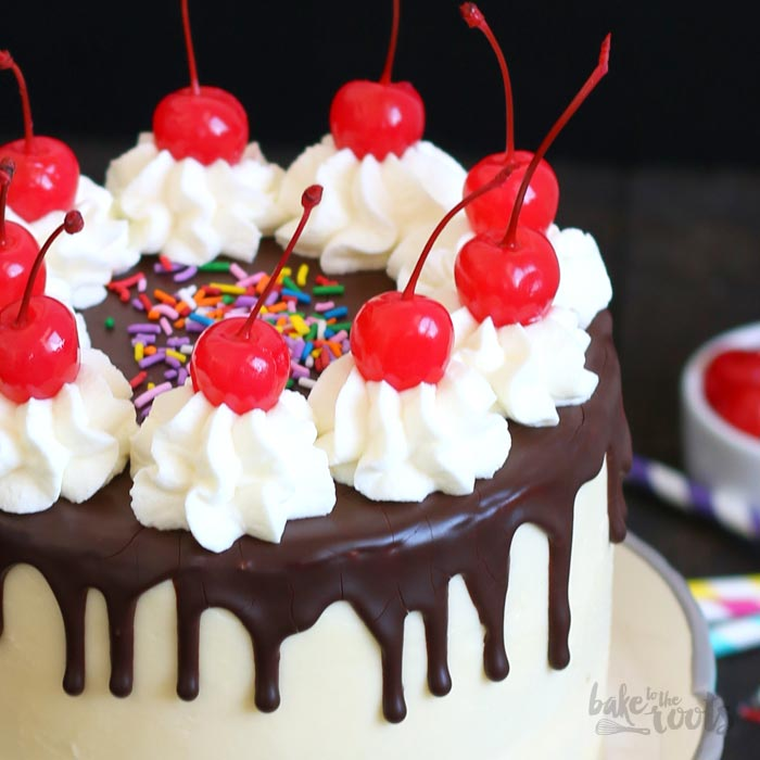 Banana Split Cake | Bake to the roots
