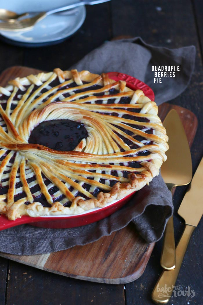 Quadruple Berries Pie | Bake to the roots