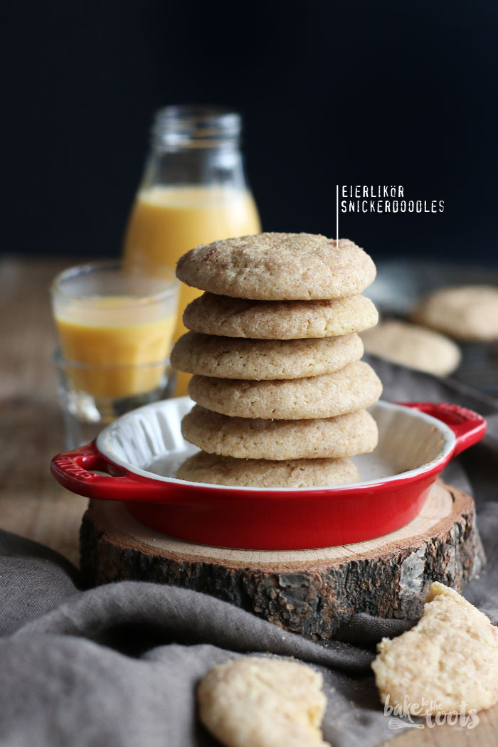 Eierlikör Snickerdoodles – Bake to the roots