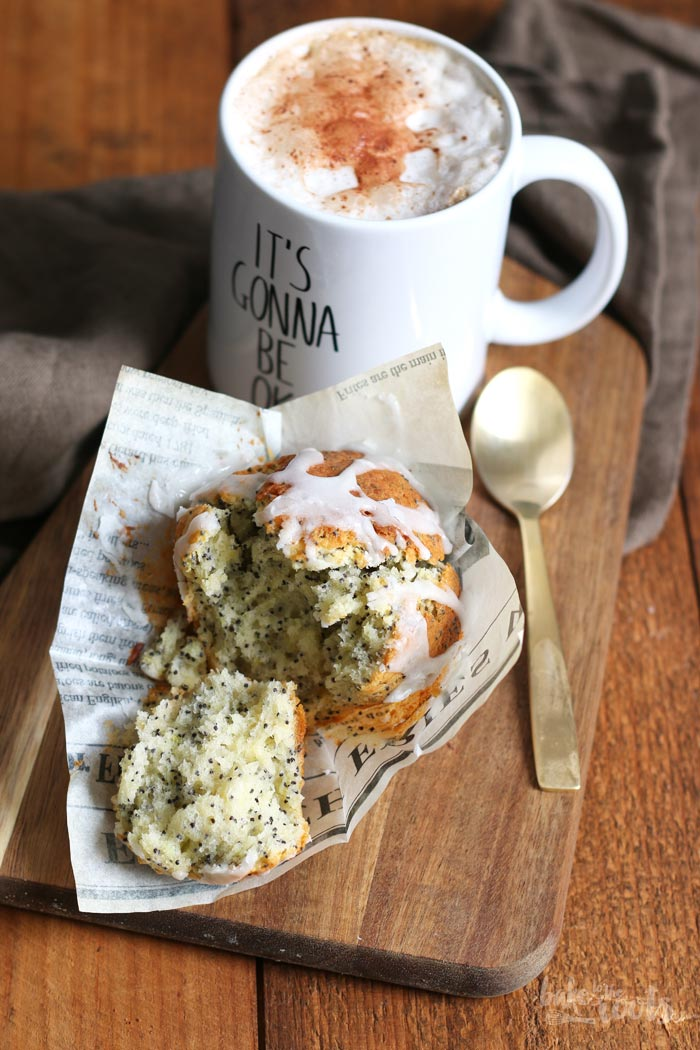 Lemon Poppy Seed Muffins | Bake to the roots