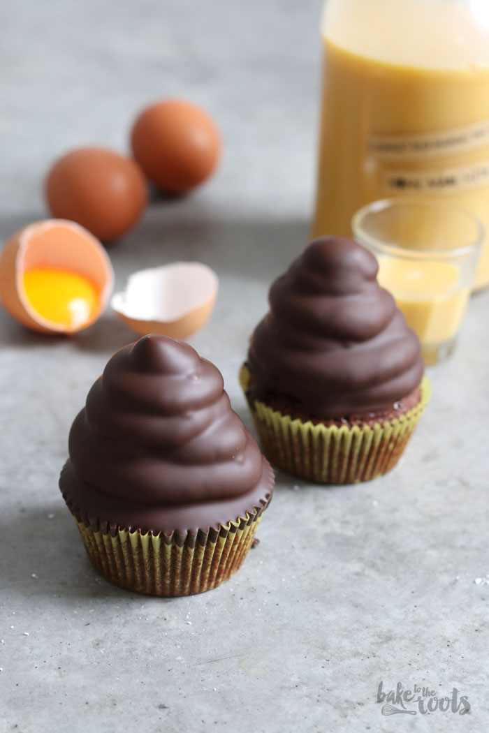 Eierlikör Hi-Hat Cupcakes | Bake to the roots