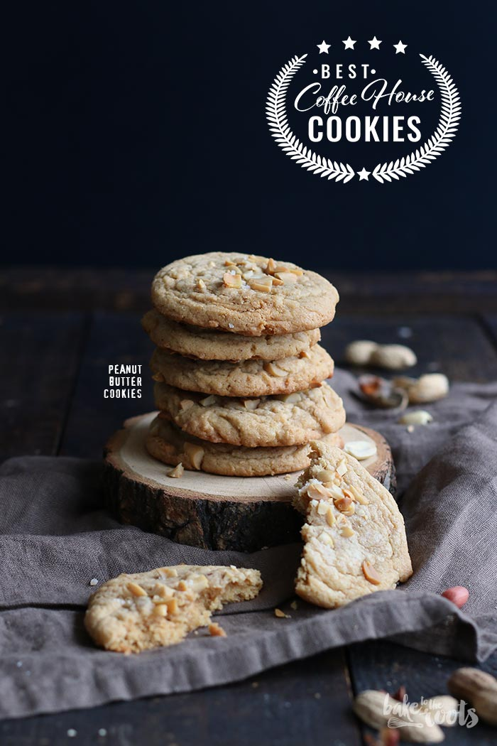 Peanut Butter Cookies | Bake to the roots