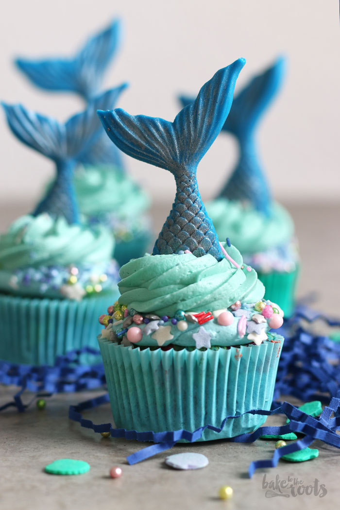 Mermaid Cupcakes Bake To The Roots