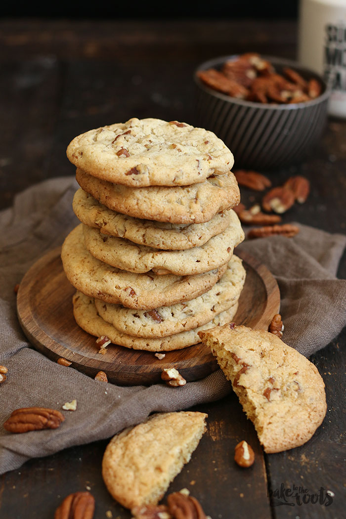 Maple Pecan Cookies | Bake to the roots