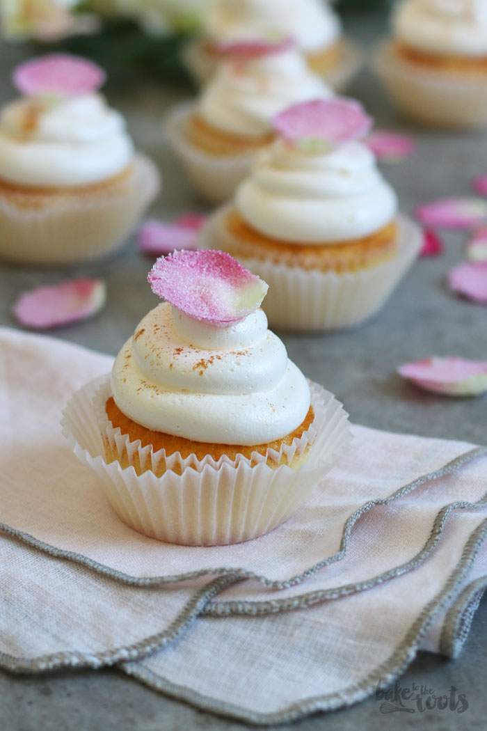 Wedding Cupcakes with Rose Water   Bake to the roots