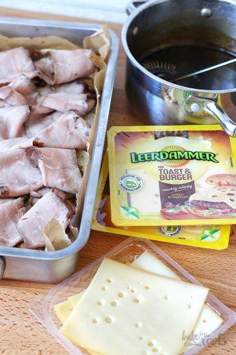 Dark Beer Roast Beef Sliders | Bake to the roots