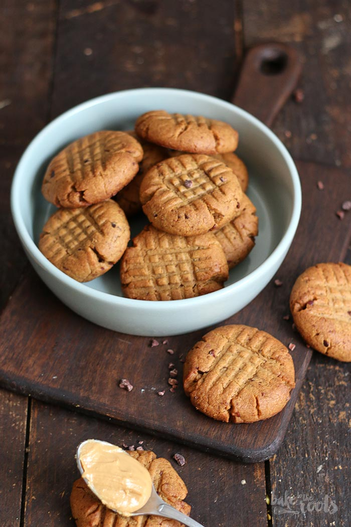 Healthy) Peanut Butter Cookies   Bake to the roots