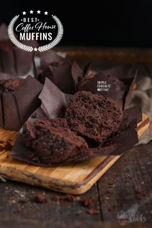 Coffee House Muffins – Triple Schokolade Muffins