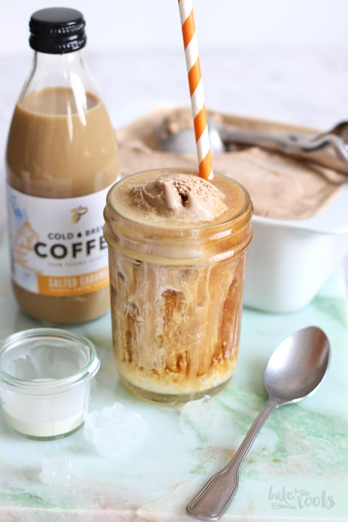 Affogato with Cold Brew Ice Cream | Bake to the roots