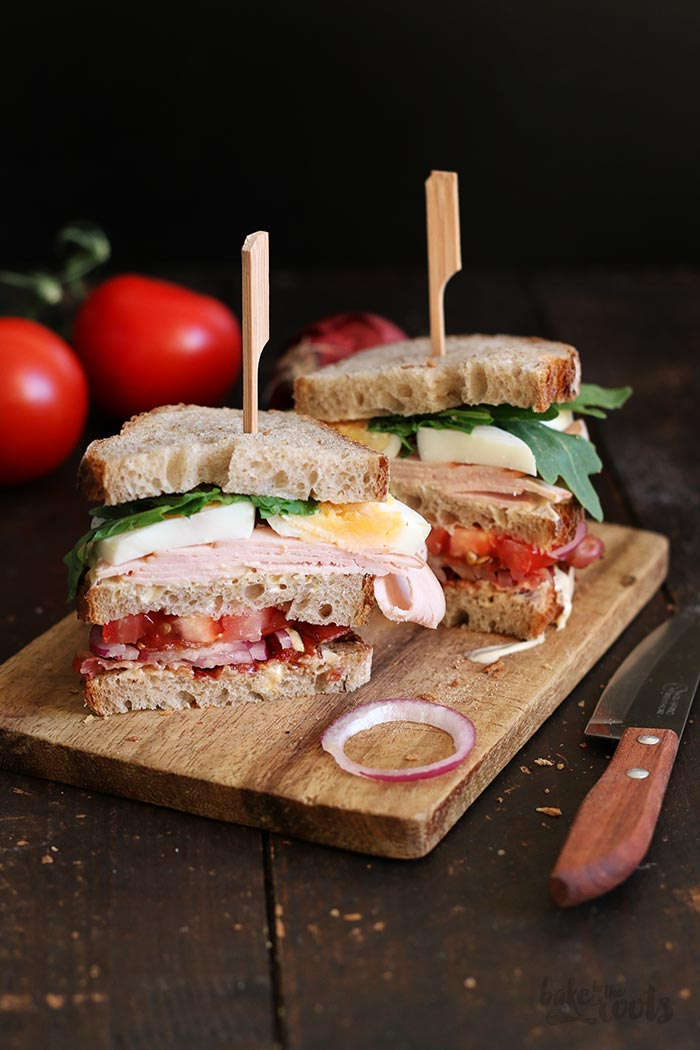 Club Sandwich | Bake to the roots