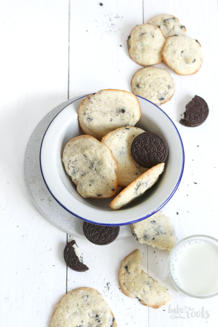 Cookies 'n' Cream Chesecake Cookies | Bake to the roots