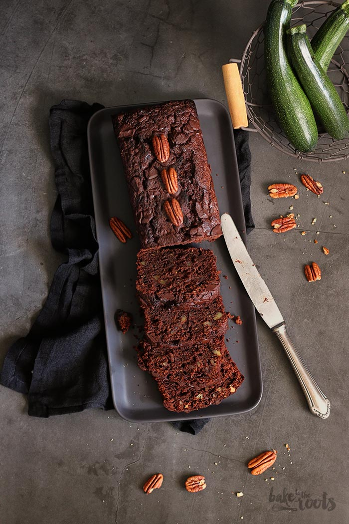 Double Chocolate Zucchini Bread | Bake to the roots