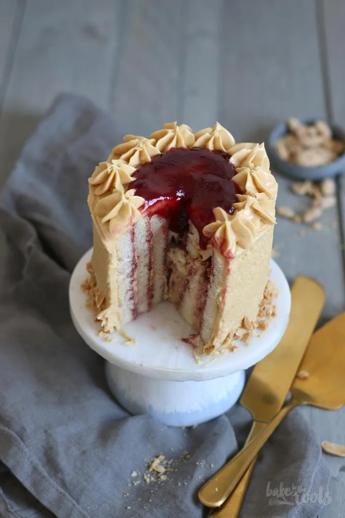 Peanut Butter & Jelly Törtchen | Bake to the roots