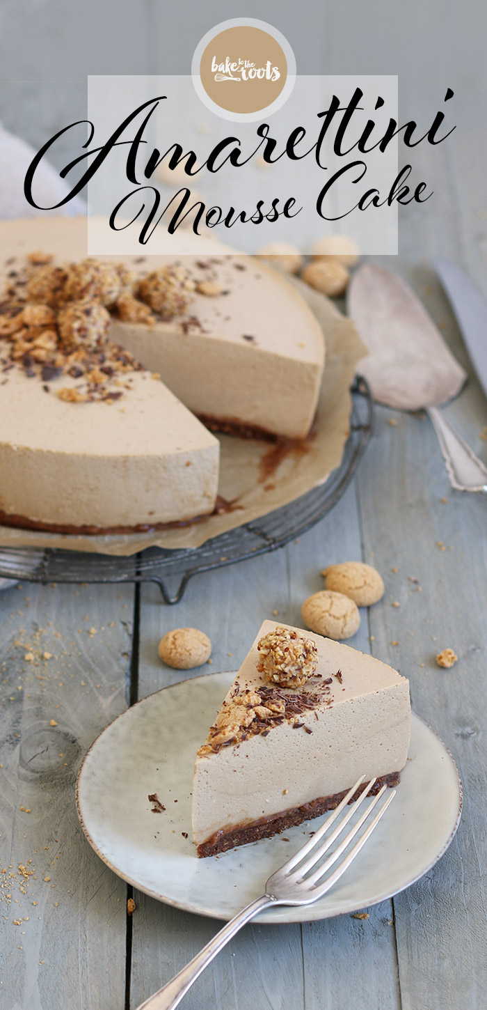 Amarettini Mousse Torte   Bake to the roots