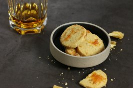 Shortbread with Cheese and Pineapple | Bake to the roots