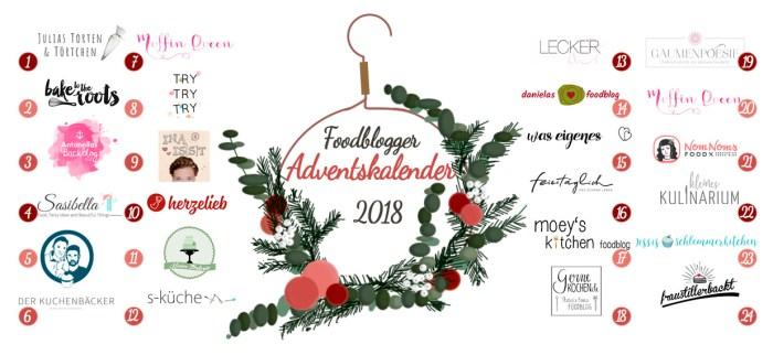 Foodblogger Adventskalnder