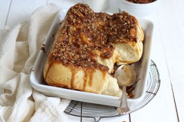 Cinnamon Pecan Sticky Buns | Bake to the roots
