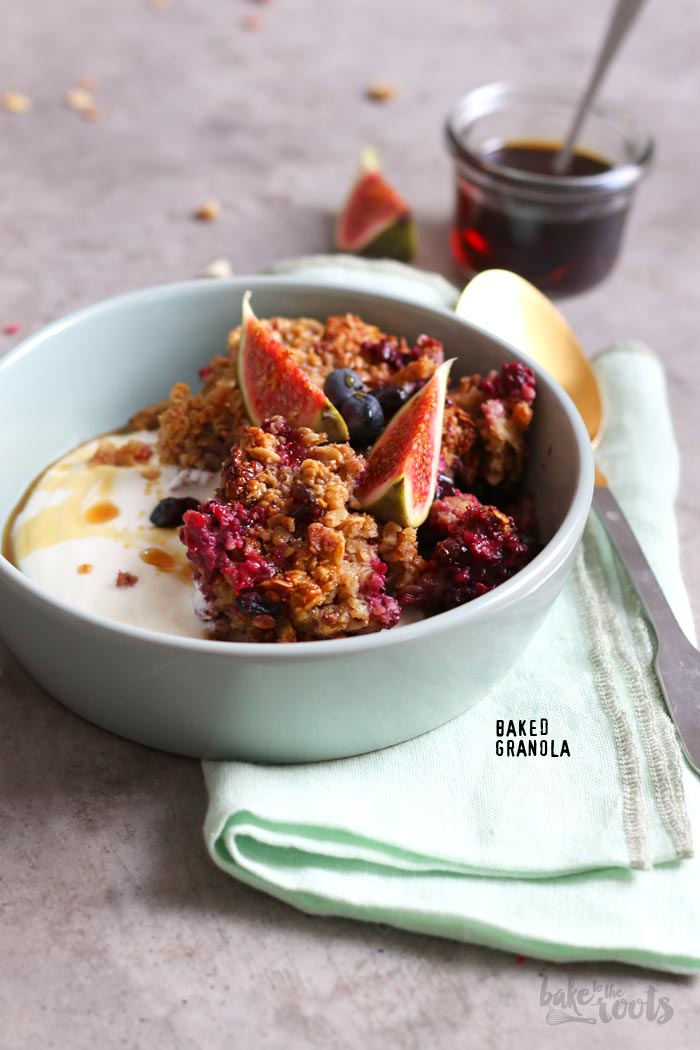 Baked Müsli | Bake to the roots