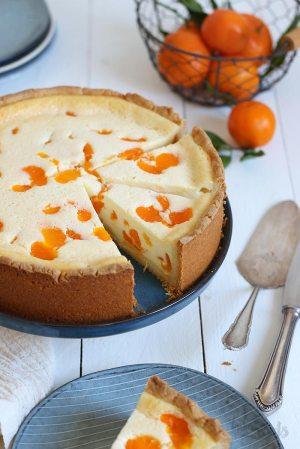 Mandarin Orange Sour Cream Cake