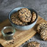 Almond Tahini Cookies (sugar-free) | Bake to the roots