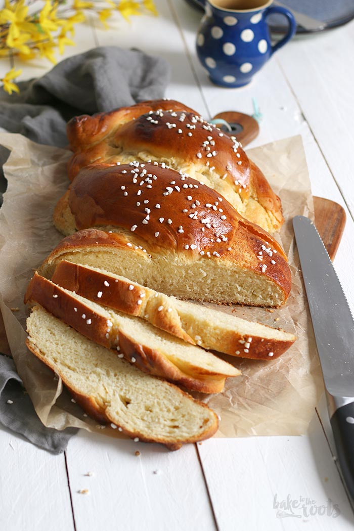 Braided Loaf with Coconut Pudding Filling | Bake to the roots