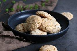 Cinnamon Crinkle Cookies | Bake to the roots