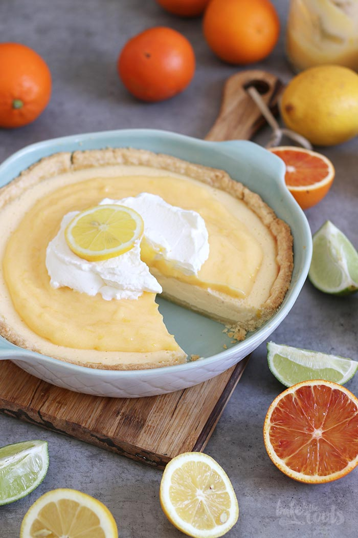 Lemon Cheesecake Pie | Bake to the roots
