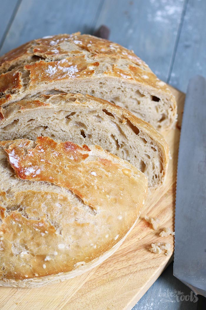 Dark Beer No-Knead Bread | Bake to the roots