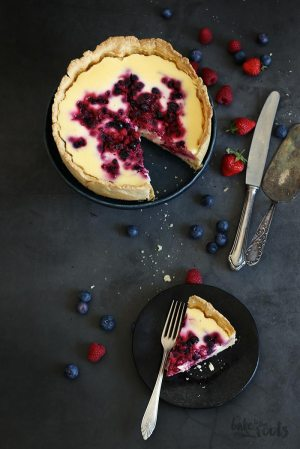 Berry Cheesecake (sugar-free)