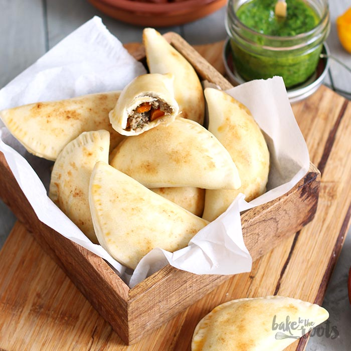 Empanadas Mit Chimichurri Soße Bake To The Roots