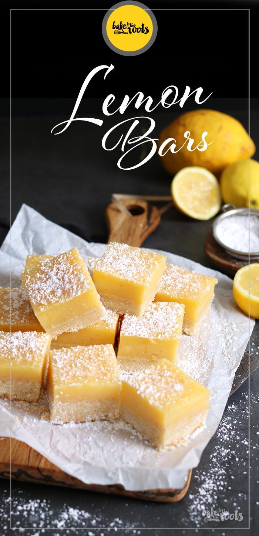 Easy Lemon Bars | Bake to the roots
