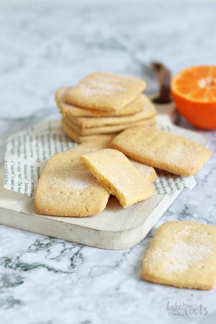 Mandarin Orange Polenta Biscuits   Bake to the roots