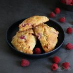 Raspberry Scones | Bake to the roots