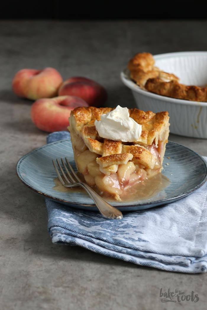 Classic Peach Pie | Bake to the roots