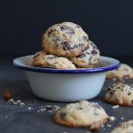 Hazelnut Chocolate Chip Cookies (sugar-free) | Bake to the roots