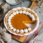 Maple Pumpkin Pie | Bake to the roots