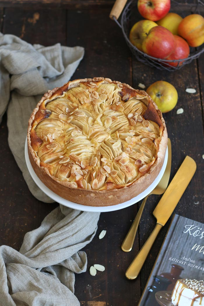 Apfel Schmand Kuchen | Bake to the roots