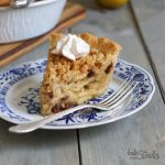 Apple Crumble Pie | Bake to the roots