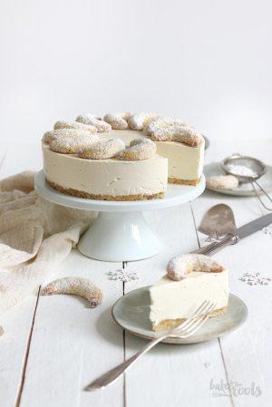 No-Bake Vanilla Crescent Cheesecake