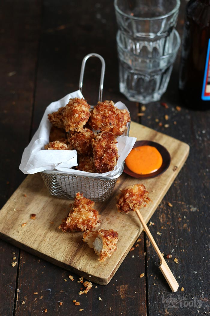 Popcorn Chicken (KFC Style) | Bake to the roots