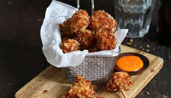 Popcorn Chicken (KFC Style)   Bake to the roots